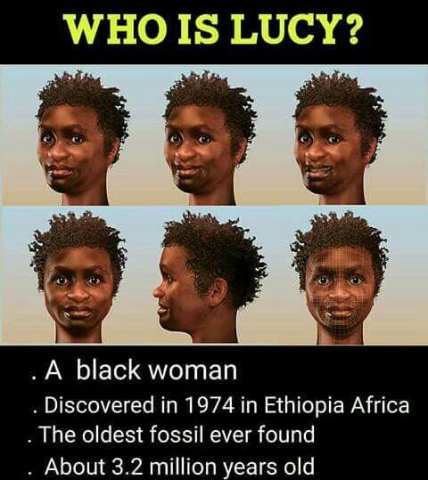 I went to the Ethiopian museum where Lucy's exhibit is housed: