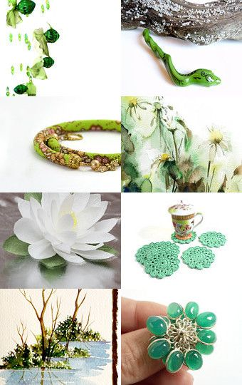 Morning in the Woodland ! by Elena on Etsy--Pinned with TreasuryPin.com