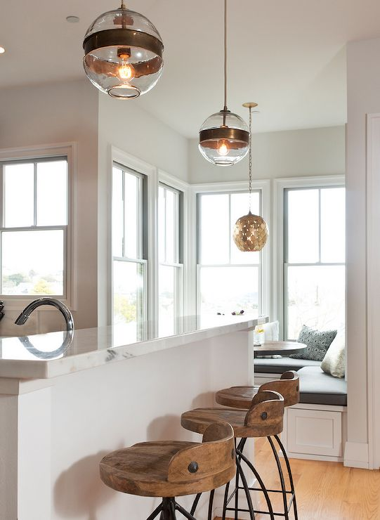 Osgood pendant arteriors home kitchen lighting overhead Breakfast bar lighting ideas