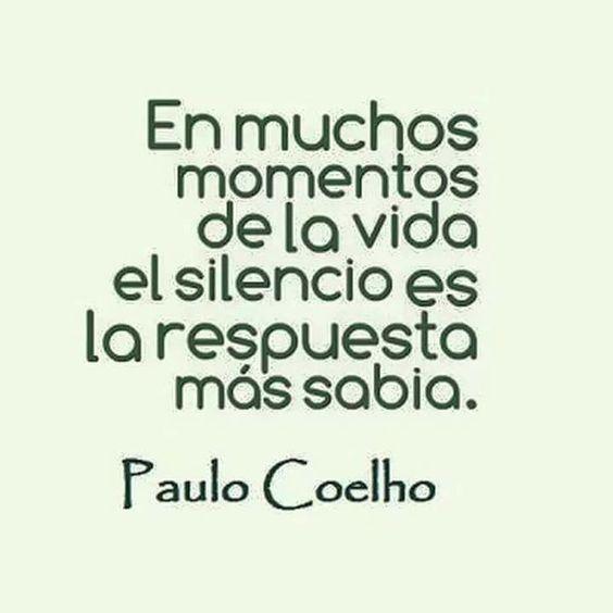 ... silencio ...
