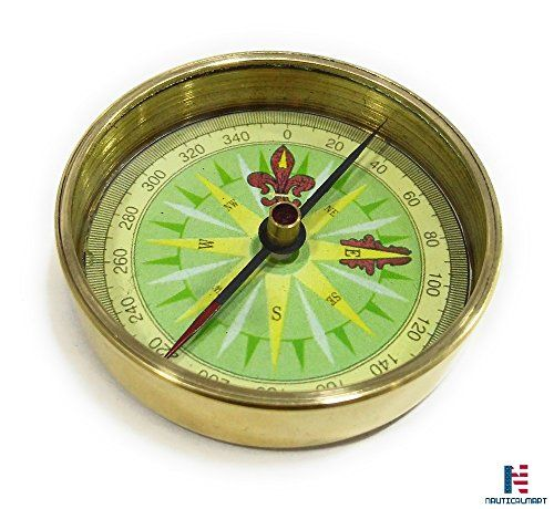 2 Brass Open Faced Pocket Compass Hiking And Camping Ho Https Www Amazon Com Dp B07459f8rr Ref Cm Sw R Pi Dp U X Pocket Compass Vintage Compass Compass
