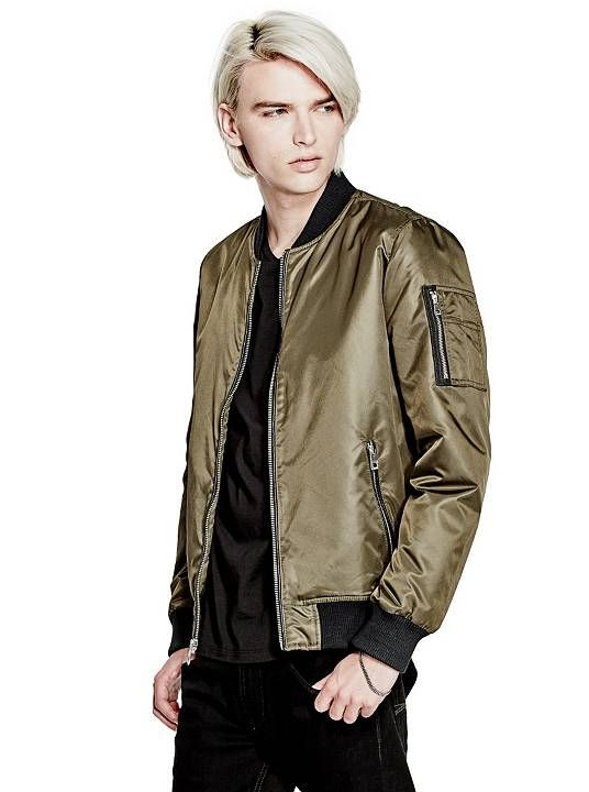Americo Bomber Jacket | shop.GUESS.com | GUESS / The Latest ...