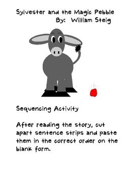 Printables Sylvester And The Magic Pebble Worksheets copiar e colar grupo and estudante on pinterest atividade de pebble sequencing paste activity sylvester the magic story sentences 17 schoo