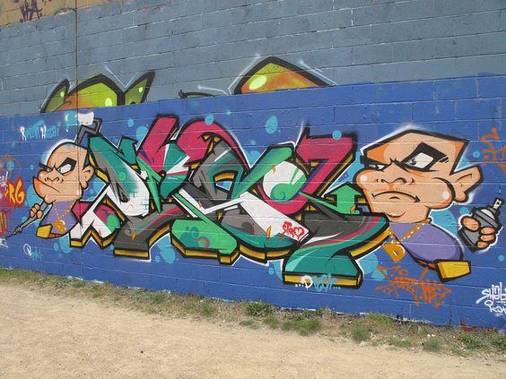 graffiti by duncan, via Flickr