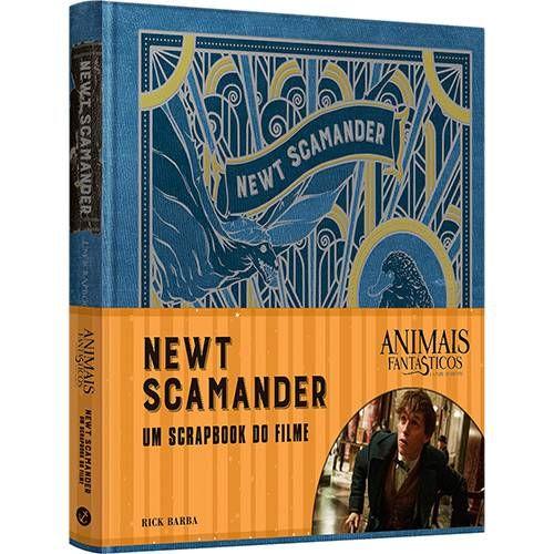 Livro Animais Fantasticos E Onde Habitam Newt Scamander O