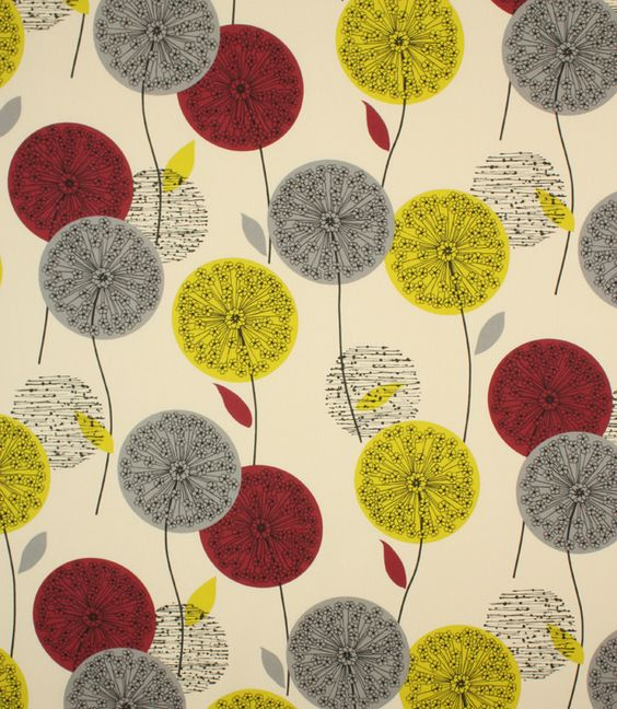 Polesia Fabric / Cranberry | Shops, Fabric shop and Fabric online
