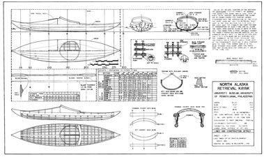 Kayak Artico, algunos modelos y sus planos