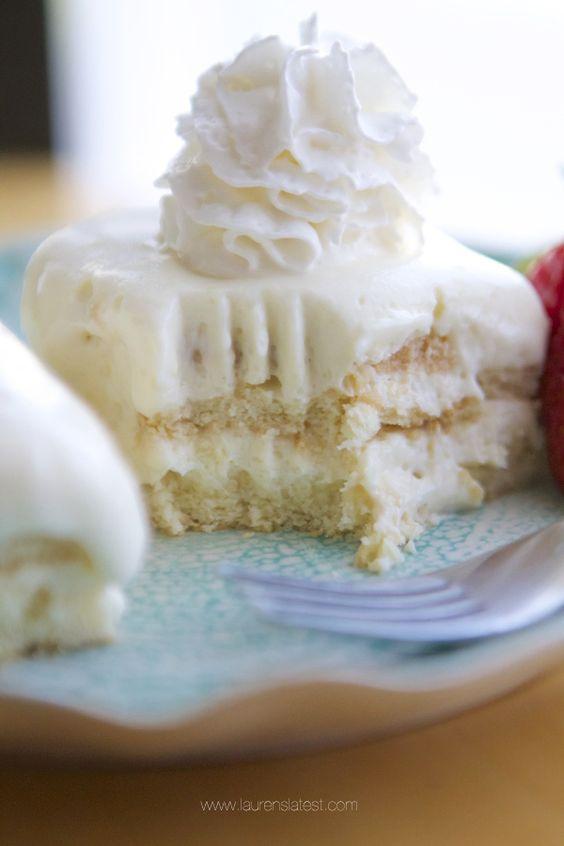 Lemon No-Bake Icebox Cake: