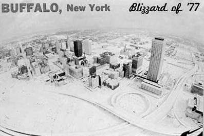 Buffalo NY Blizzard of 77. Freshman in college when this hit. Walked to school -about two miles and then they cancelled classes!!!!!