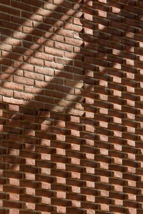 Herring-bone coursing brickwork Norman?!?