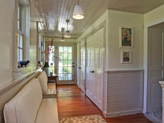 entryway - large closets