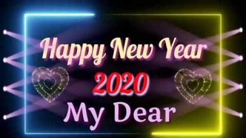 Happy New Year 2020 New Year Dance Whatsapp Status In 2020 Happy New Year Status Happy New Year Love New Year Status