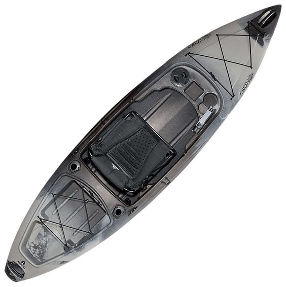 Ascend fs10 sit in angler kayak titanium bass pro for Bass pro fishing kayak
