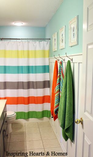 Cute Kidu0027s Bathroom Remodel With Board ...