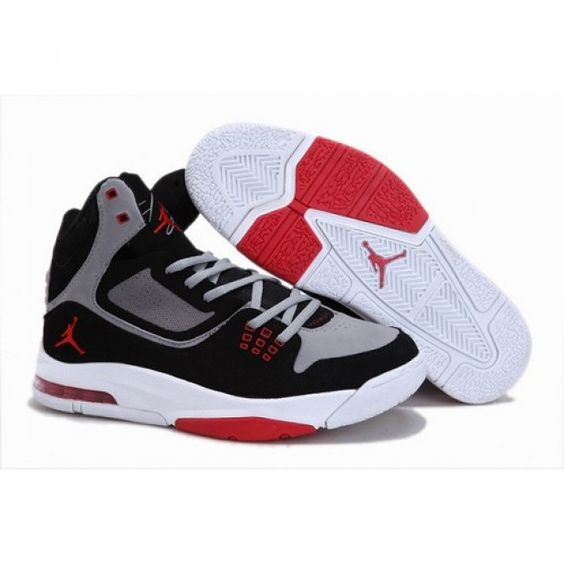 Brand Air Jordan 4 IV Women Shoes White-Red-Black 1005