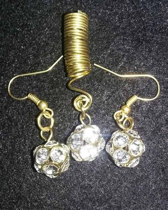 Dreadlock jewelry and earrings