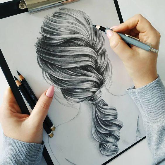 Conheça o ATALHO INCRÍVEL Que Vai Ajudar Você A Fazer Desenhos PROFISSIONAIS, SEM Precisar Praticar Por VÁRIOS Anos, Mesmo Sendo Um COMPLETO INICIANTE! [Clique no PIN e Veja!]...... #desenhorealistacabelo #desenhorealista #desenhorealistamulher #desenhorealistapassoapasso #desenhorealistacabelorosa #desenhorealistacabelomasculino