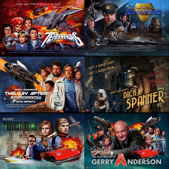 Eric Chu #poster pack - 6 posters - save 20% #gerryandersonshop #andersonshop