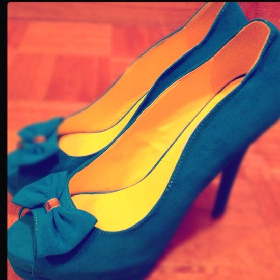 Landra s style Teal Heels 6884 |2013 Fashion High Heels|-Something like these would be cute for Bridesmaids :]