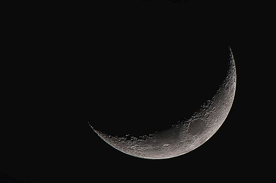 Photo the moon on the month of rajab by MOHAMED OMAR on 500px