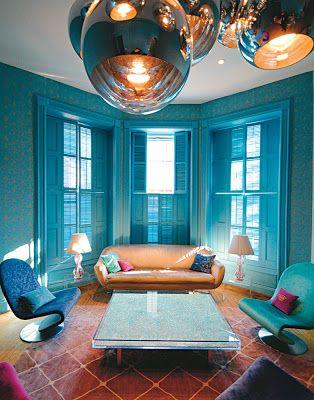 Laila Easum: Designers home: Marie-Helene de Taillac