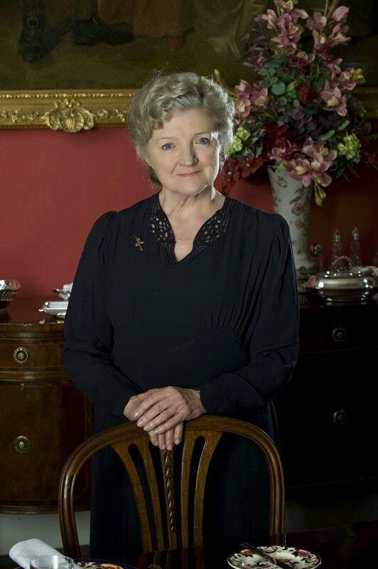 Julia MacKenzie in 'Agatha Christie's Miss Marple Mysteries'.