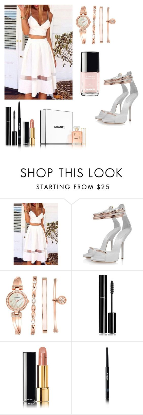"""Coco"" by daykay ❤ liked on Polyvore featuring Posh Girl, Anne Klein and Chanel"