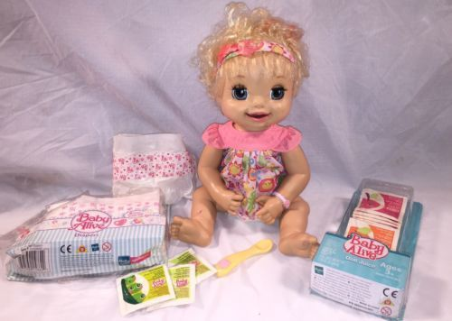 Baby Alive 2007 Soft Face Interactive Learn To Potty Doll Food Juice Diapers E View More On The Link Http Www Zeppy Io Product Gb 2 222074043985 Lalki