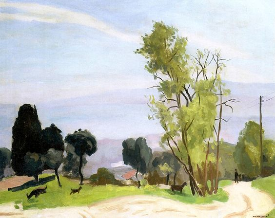 The Path / Albert Marquet - 1924