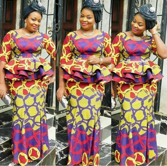 2019 Most Beautiful Ankara Skirt And Blouse Styles For Wedding Guest Correct Kid African Fashion African Fashion Dresses African Fashion Skirts