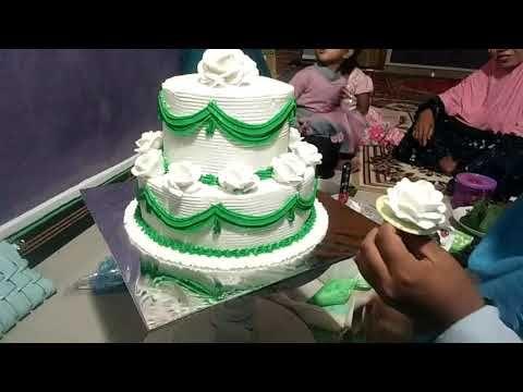 Cara Membuat Kue Pengantin Sederhana 2 Tingkatsusun