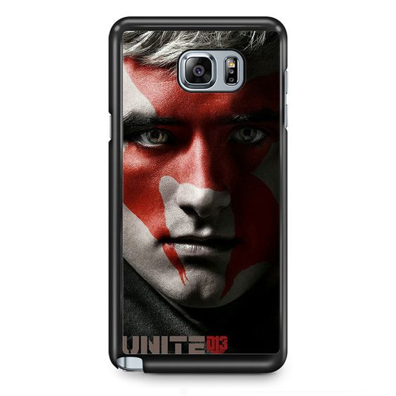 The Hunger Game Peeta TATUM-10771 Samsung Phonecase Cover Samsung Galaxy Note 2 Note 3 Note 4 Note 5 Note Edge