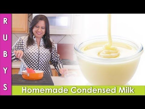 Homemade Condensed Milk Recipe Without Milk Powder In Urdu Hindi Rkk Youtube Condensed Milk Recipes Homemade Condensed Milk Condensed Milk
