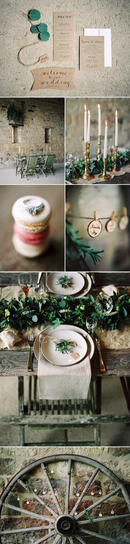 Elegant Rustic Wedding Inspiration by Wedding Creations UK | Style Focused Wedding Venue Directory | Coco Wedding Venues