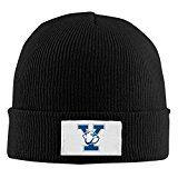 nice Amone Yale Y Brand College Winter Knitting Wool Heat Hat Black