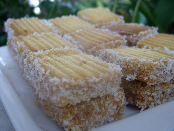 recette Sablés à la noix de coco et Nescafé : Gâteau marocain, Cuisine Femme Zoom, Recettes de cuisine ...