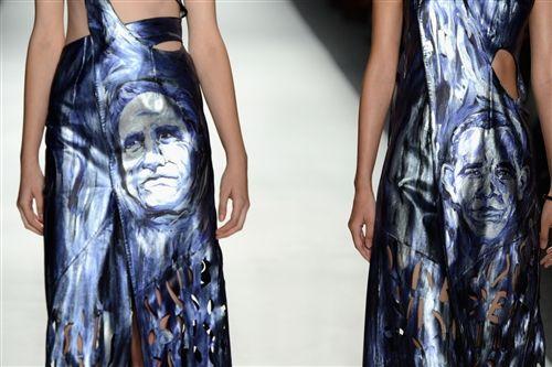 Romney on a dress? Bizarre style hits Fashion Week runway - The Look