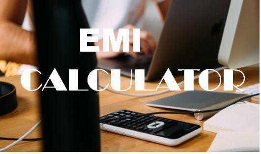 Loan Emi Calculator Home Loans Loan Interest Rates Loan Calculator