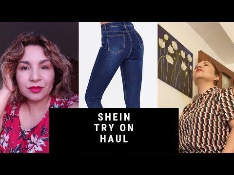 Shein Haul Talla Grande Me Pruebo Todo Relacion Amor Odio Shein Moda Tallas Grandes Youtube Online Shopping Clothes Women Plaid Sleeve Skinny