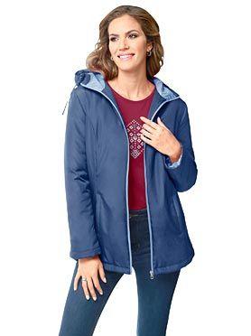 Куртка, 592571, черничнo-голубой