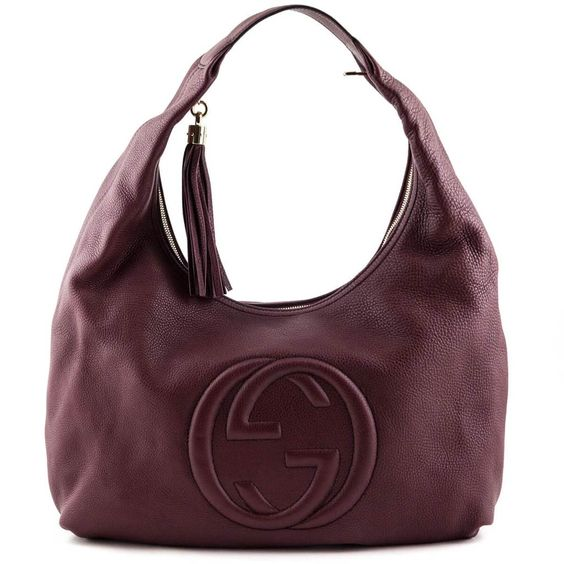 Gucci Burgundy Large Soho Hobo Luxury Consignment Canada Chic