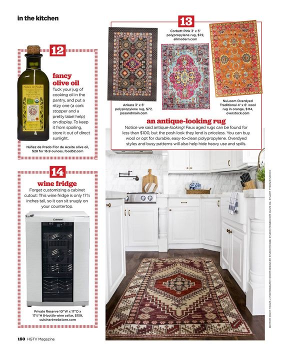 I saw this in the September 2016 issue of HGTV Magazine.   http://bit.ly/1mzvglC