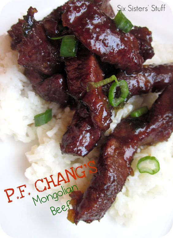 PF Chang's Mongolian Beef Copy Cat Recipe.