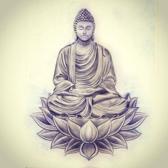 buddha tattoo - Google Search                                                                                                                                                      Mais
