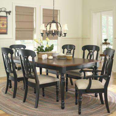 Raleigh dining collection jcpenney for the home for Jcpenney dining room furniture