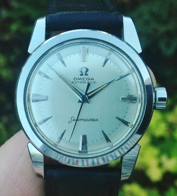 Omega Seamaster 2828 with engraving stolen in burglary.