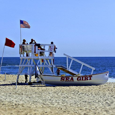 Sea Girt   24 Beautiful Beaches You Won't Believe Are In New Jersey