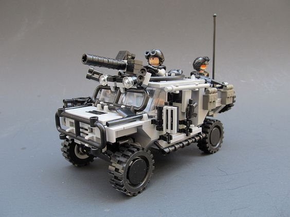 Bulldog Spec. Ops variant by Andrew Somers, via Flickr