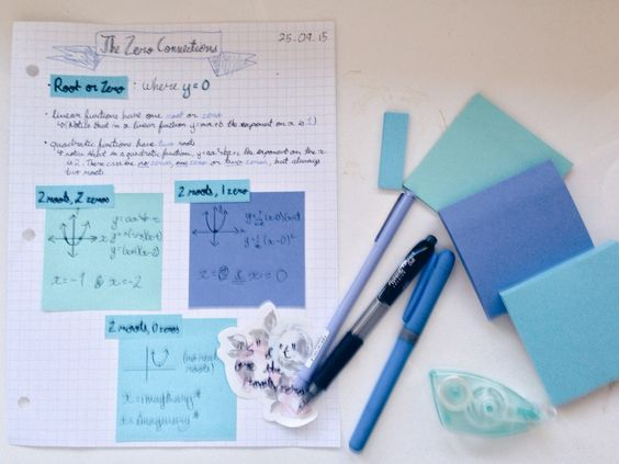 alexstudyspace: 27.09.2015 12:27// my mixed math... - The Organised Student