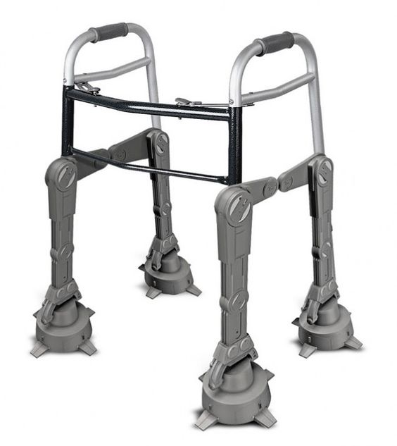 For when we're old! Imperial Walker walker... I WILL be rocking one of these as an old lady: Old Age, Imperial Walker, Wars Walker, Star Wars, I M Older, I Will, Nursing Homes, Starwars
